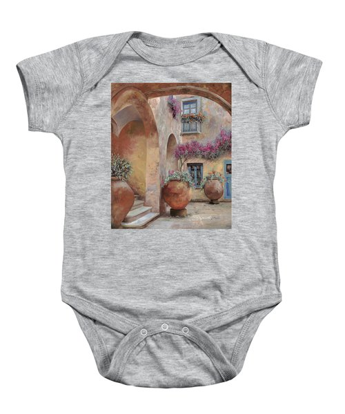 Le Arcate In Cortile Baby Onesie