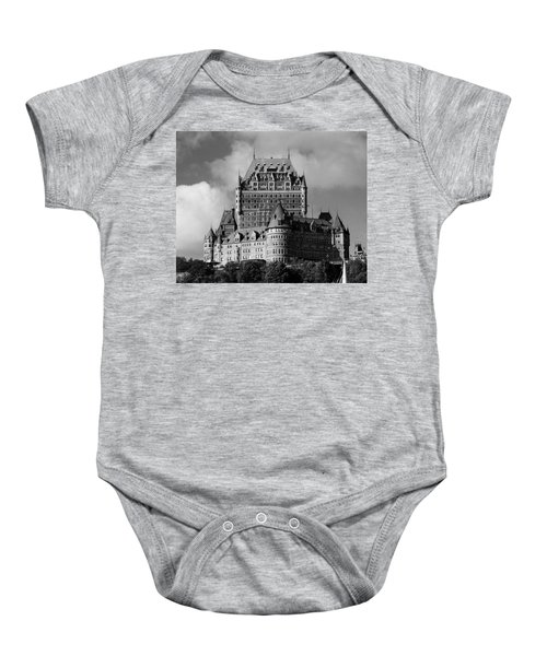 Le Chateau Frontenac - Quebec City Baby Onesie