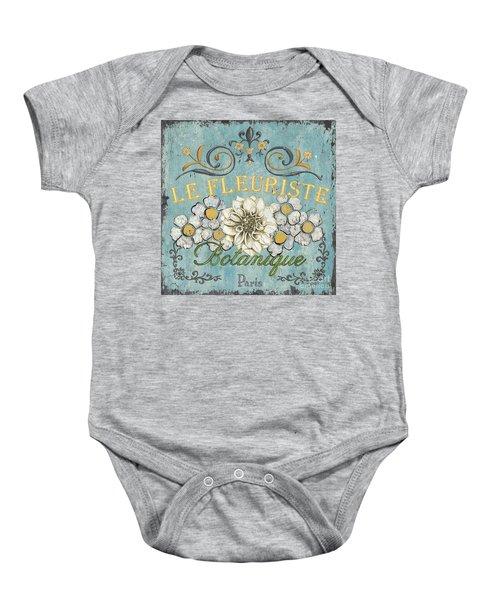 Le Fleuriste De Botanique Baby Onesie