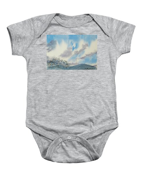 The Blue Hills Of Summer Baby Onesie