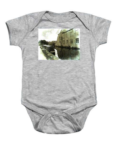 Leeds Liverpool Canal Unchanged For 200 Years Baby Onesie
