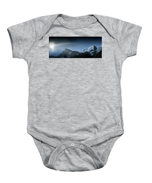 Let There Be Light Baby Onesie