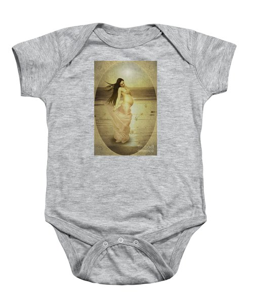 Let Your Soul And Spirit Fly Baby Onesie