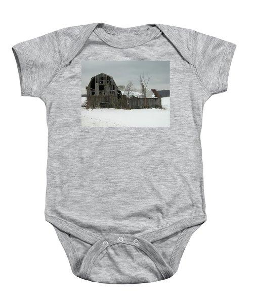 Letchworth Barn 0077b Baby Onesie