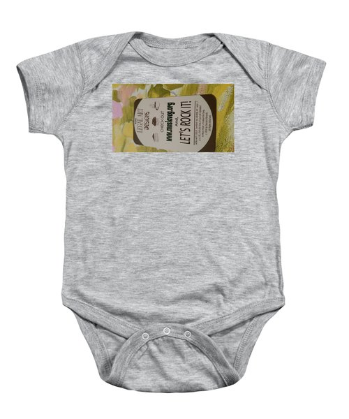 Let's Rock It Baby Onesie by Silvana Vienne