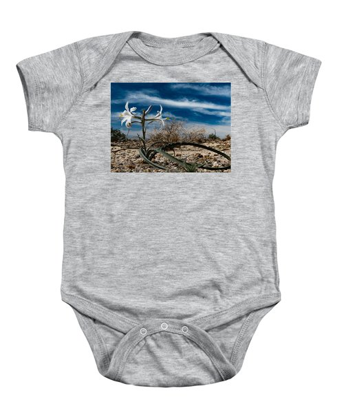 Life Amoung The Weeds Baby Onesie