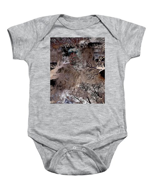 Life In A Bush Of Ghosts Baby Onesie