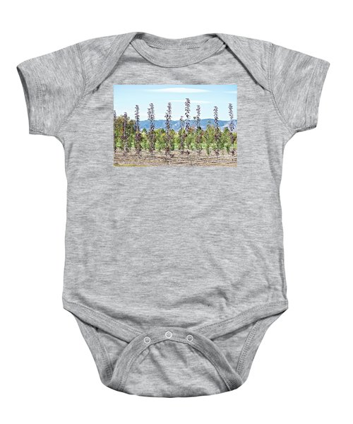 Life On A Tree Farm-foothills View #1 Baby Onesie