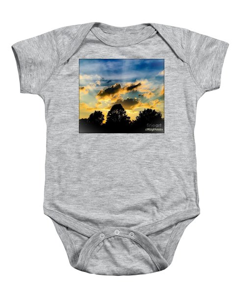 Life With Out Words Baby Onesie