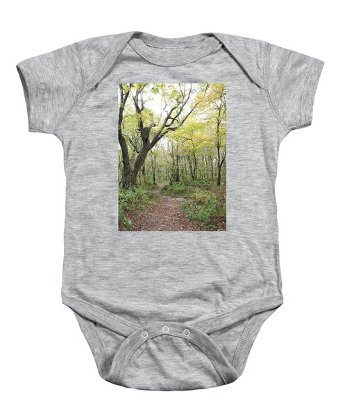 Light On Path Baby Onesie