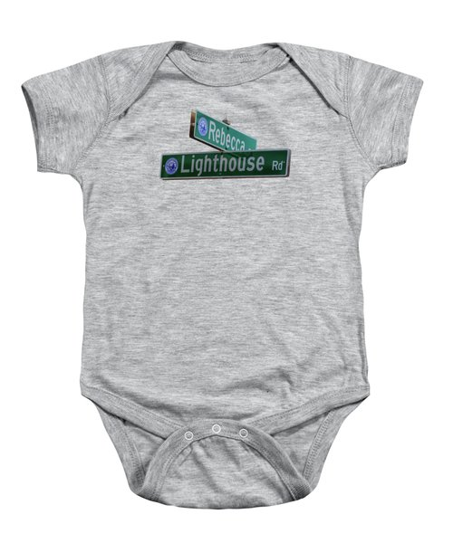Lighthouse Road Baby Onesie