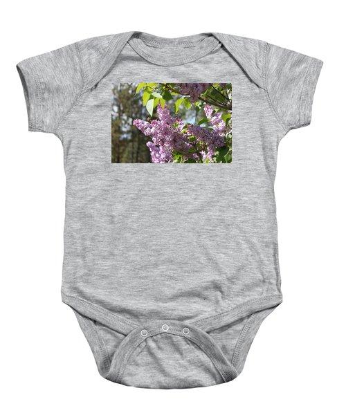 Lilacs 5545 Baby Onesie