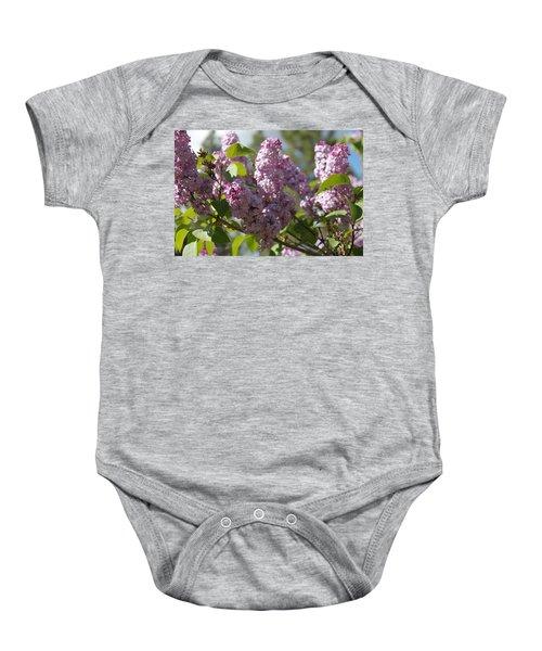 Lilacs 5548 Baby Onesie