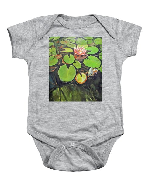 Lily In The Water Baby Onesie