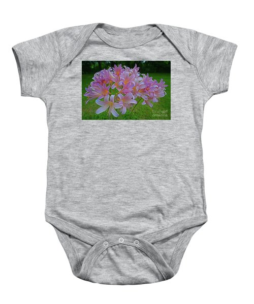 Lily Lavender Baby Onesie