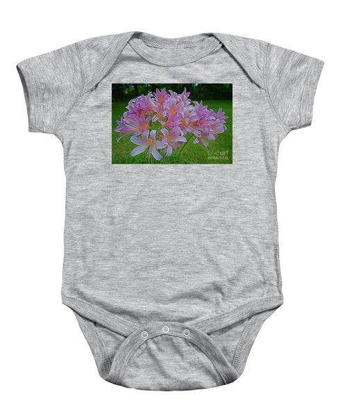 Lily Lavender Baby Onesie