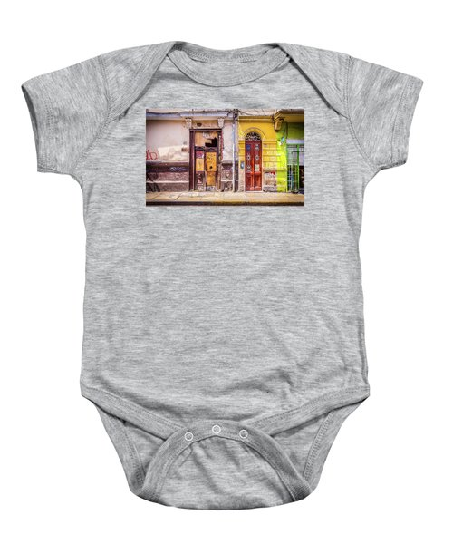 Lima City Doors Baby Onesie