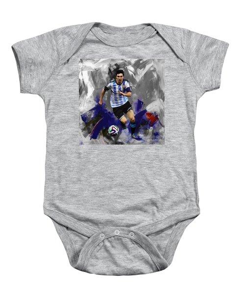 Lionel Messi 094a Baby Onesie
