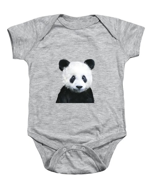 Little Panda Baby Onesie by Amy Hamilton