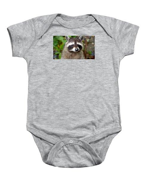 Little Racoon - Procyon Lotor Baby Onesie