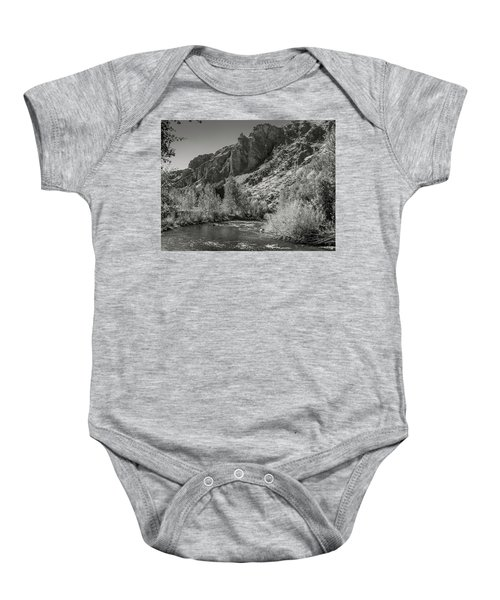 Little Wood River 2 Baby Onesie