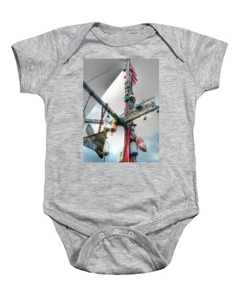 Live Crab Hdr 2164 Baby Onesie