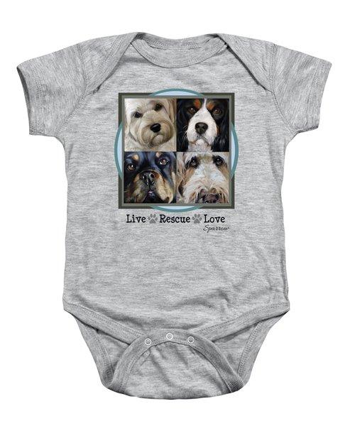 Live Rescue Love Baby Onesie