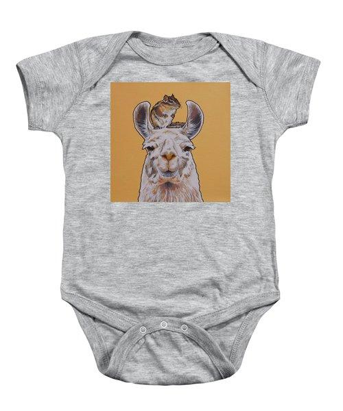 Llois The Llama Baby Onesie