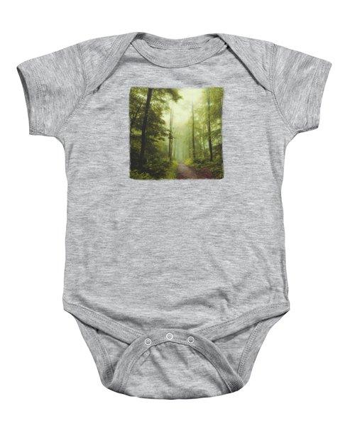 Long Forest Walk Baby Onesie