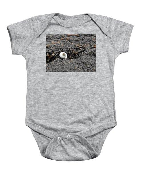 Lone Seashell Baby Onesie