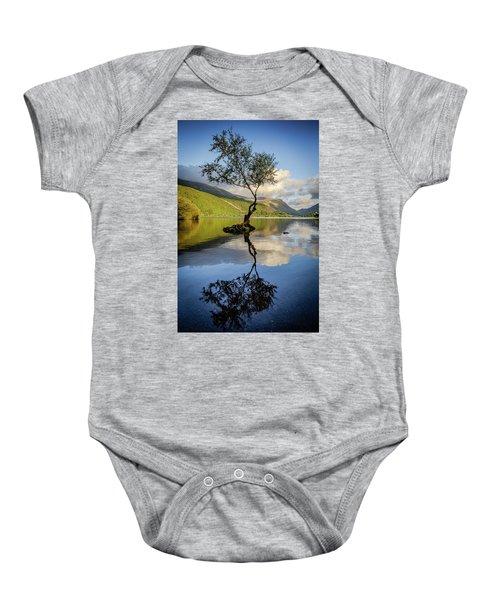 Lone Tree, Llyn Padarn Baby Onesie