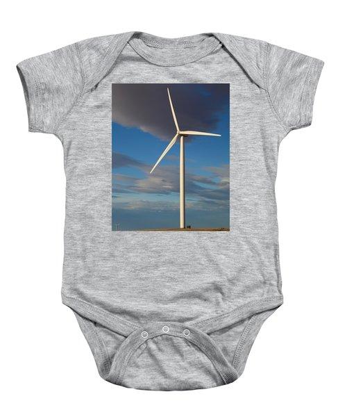 Lone Turbine Baby Onesie