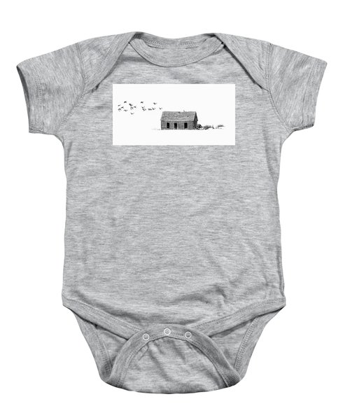 Lonesome But Peaceful Baby Onesie