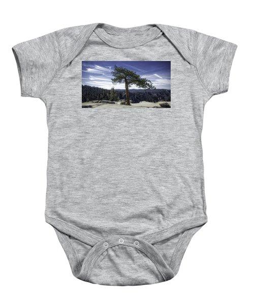 Lonesome Tree Baby Onesie