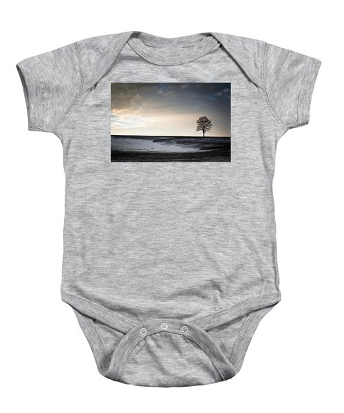Lonesome Tree On A Hill IIi Baby Onesie