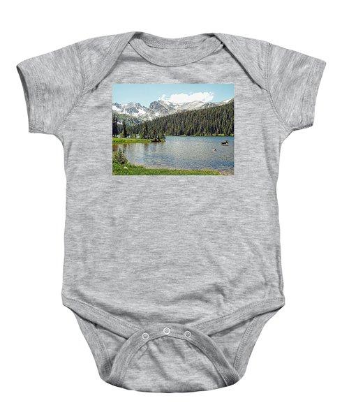 Long Lake Splender Baby Onesie