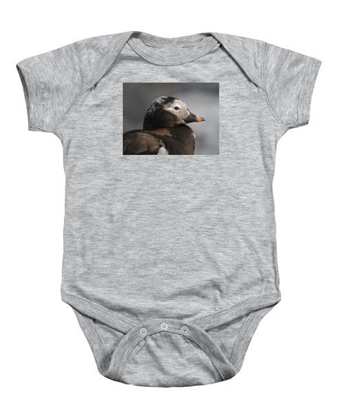 Long-tailed Stare Baby Onesie