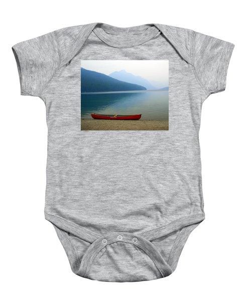 Lonly Canoe Baby Onesie