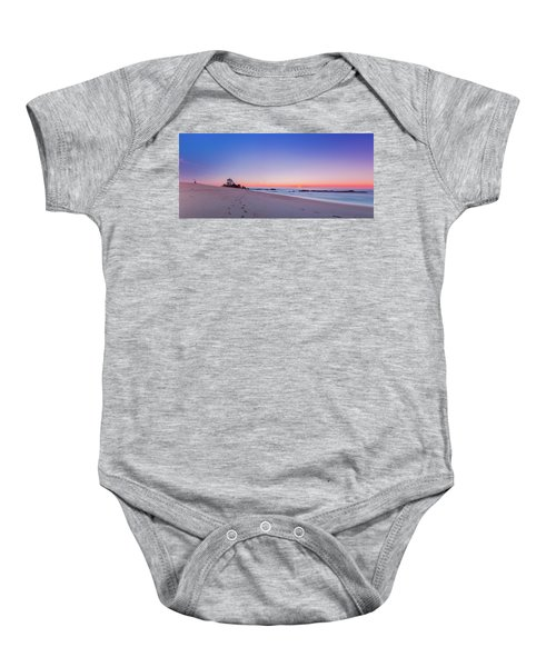 Looking Into The Distance Baby Onesie