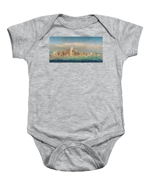Los Angeles Sunset Baby Onesie