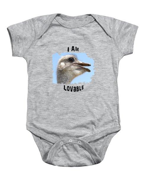 Lovable Baby Onesie
