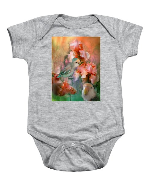Love Among The Irises Baby Onesie