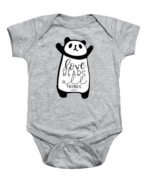 Love Bears All Things Baby Onesie