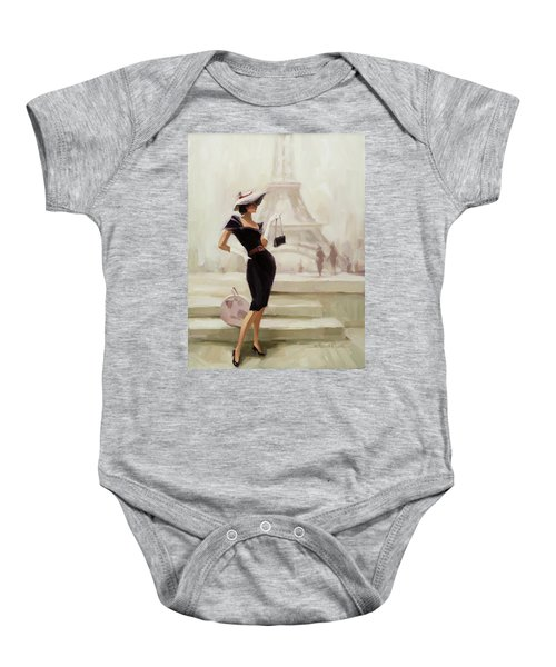Love, From Paris Baby Onesie