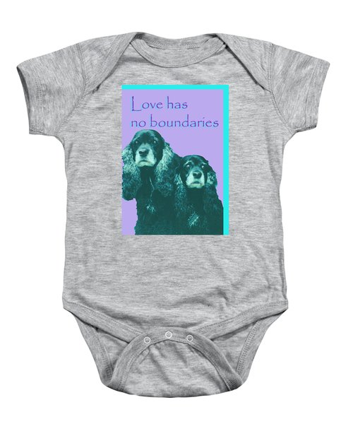 Love Had No Boundaries Baby Onesie