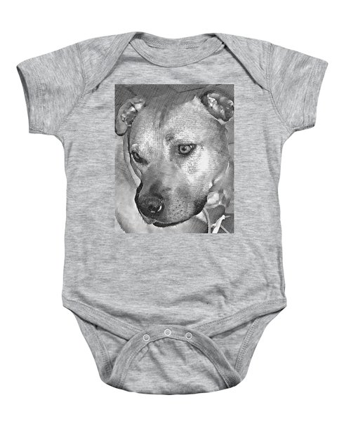 Lovely Dog Baby Onesie