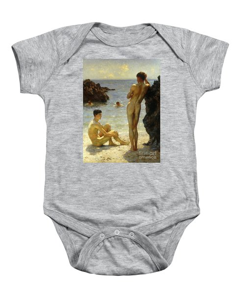 Lovers Of The Sun Baby Onesie