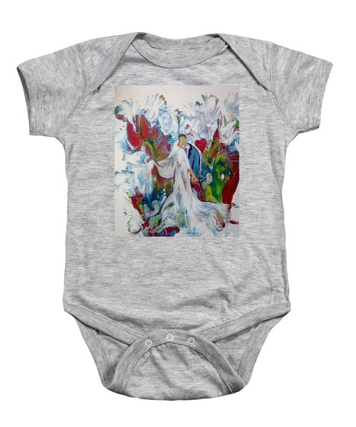 Loving You With All My Heart Baby Onesie