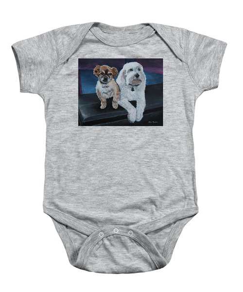 Lucy And Colby Baby Onesie