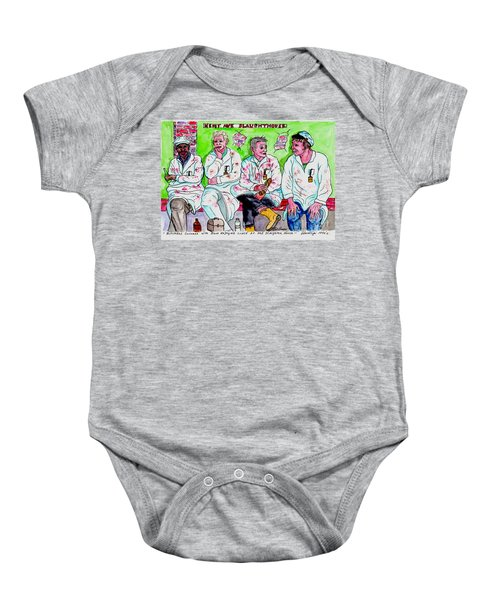 Lunch Break At The Slaughter House Baby Onesie